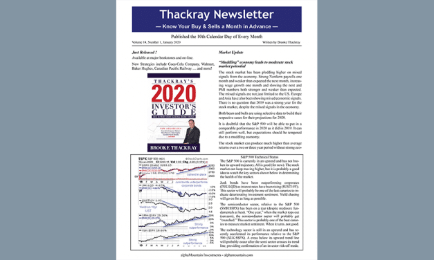 Thackray Newsletter 2020 January